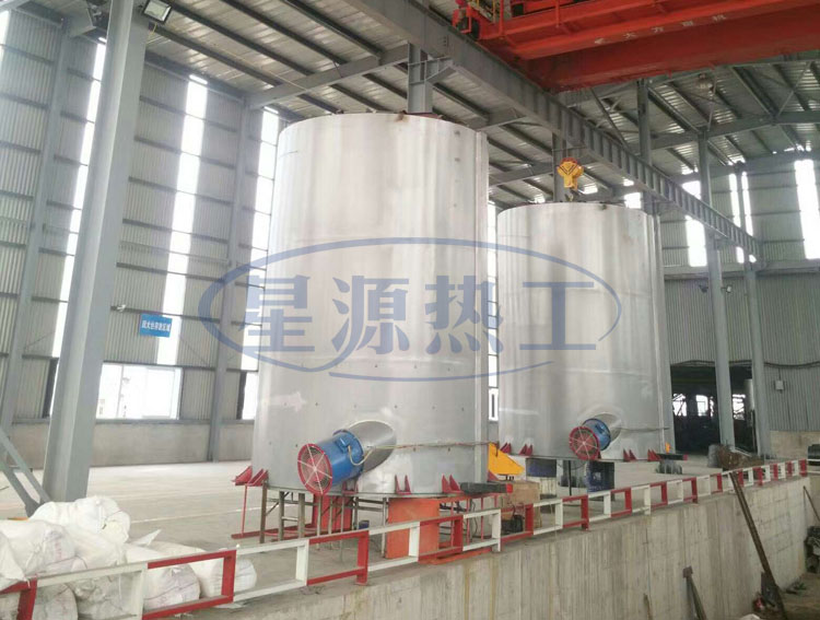 Copper wire vacuum annealing bell type furnace