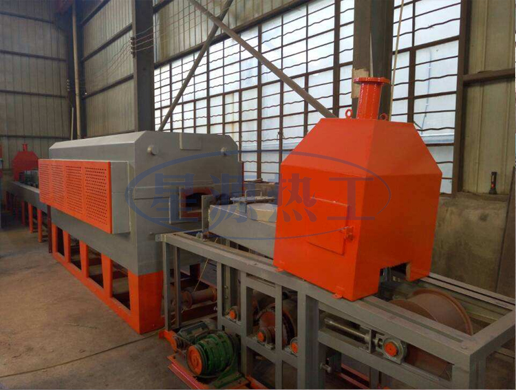 Continuous mesh belt bright sintering furnace