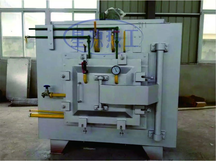 Double chamber vacuum oil quenching gas cooling furnace