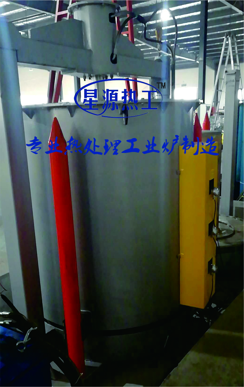 Shell type pressure sintering furnace