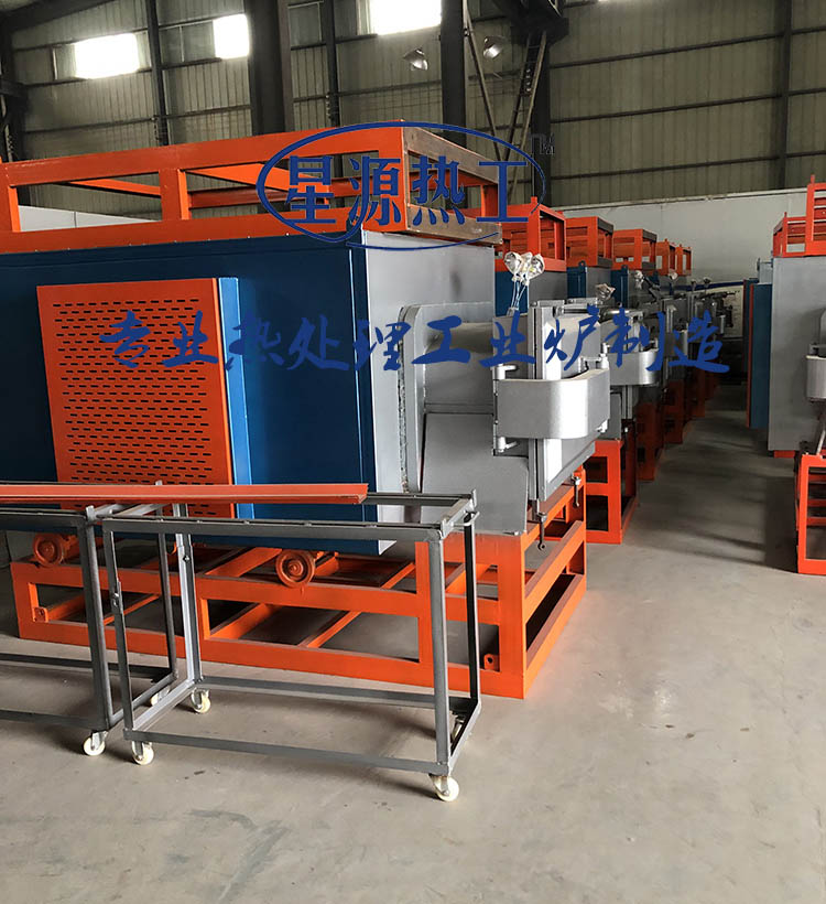Vacuum amorphous electronic annealing furnace