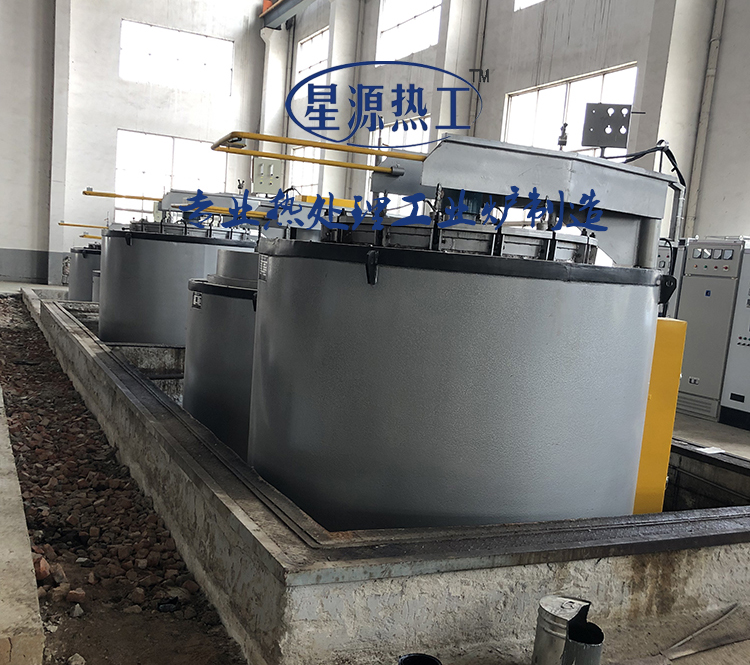 280 kw well type carburizing furnace unit