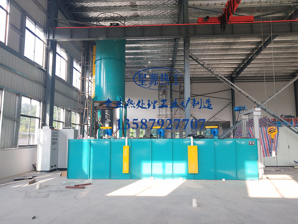 Aluminum alloy trolley aging furnace