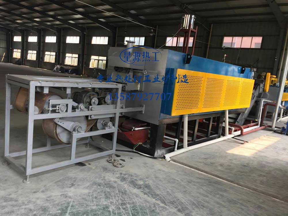 75 kw mesh belt quenching wire back