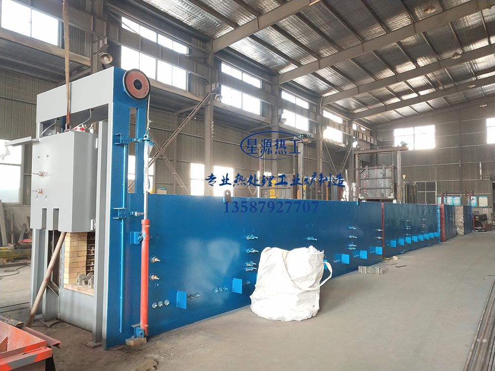 Pusher-type continuous production line for quenching tempering furnace series dongyang areas